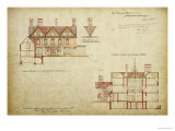 Design for the Red House, Bexley Heath Giclee Print by Philip Webb