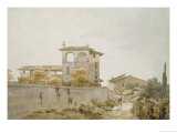 An Italian Villa Giclee Print by William Pars