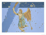 "Constellation of Orion from ""Uranometria"" Giclee Print by Johann Bayer"