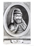 Portrait of William Caxton and His Printer's Mark, Giclee Print