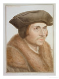 Thomas More, Lord Chancellor Giclee Print by Hans Holbein the Younger