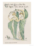 Lilies of the Vale, from Flora's Feast, 1901 Giclee Print by Walter Crane