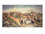 Independence or Death, the Shout of Ipiranga on the 7th September 1822 Reproduction procédé giclée par Don Pedro Di Figueredo Americo