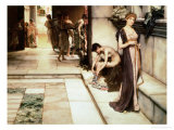 An Apodyterium Giclee Print by Sir Lawrence Alma-Tadema
