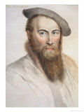 Sir Thomas Wyatt Giclee Print by Hans Holbein the Younger