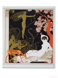 Vénus Reproduction procédé giclée par Georges Barbier