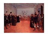 The Congress of Tucuman, the Declaration of Independence of Argentina from Spain in 1816 Giclee Print by Francisco Fortuny