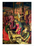 Deposition from the Cross, 1582 Giclee Print by Sebastiano Vini