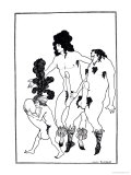 The Lacedaemonian Ambasadors, Illustration from Lysistrata by Aristophanes 1896 Impresso gicle por Aubrey Beardsley