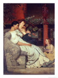 A Roman Family Giclee Print by Sir Lawrence Alma-Tadema