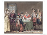 Cardinal Mazarin Concludes the Peace of the Pyrenees 1659 Giclee Print by Jacques Francois Joseph Swebach
