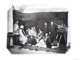 French School in Algeria, circa 1860 Giclee Print by  Moulins