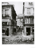 Paris 4 Rue De Breteuil, View Taken from Rue Reaumur Towards Rue Vaucanson, 1858-78 Giclee Print by Charles Marville