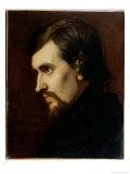 Portrait of Charles-Francois Gounod 1841 Giclee Print by Henri Lehmann