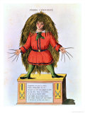 """Pierre L'Ebouriffe,"" Illustration from the French Translation of Hoffmann's ""Struwwelpeter"" Giclee Print by Heinrich Hoffmann"