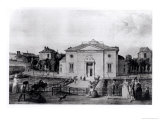 The Great Amphitheatre of Jardin Des Plantes in Paris, in 1794 Giclee Print by Jean-baptiste Hilaire