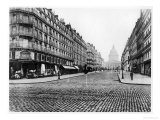 Paris, Rue Soufflot, the Pantheon, 1858-78 Giclee Print by Charles Marville
