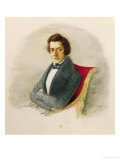 Portrait of Frederic Chopin Giclee Print by Maria Wodzinska
