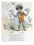 "The Child Who Never Washes, Illustration for ""Les Defauts Horribles,"" 1862 Giclee Print by Trim"