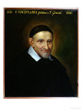 St. Vincent De Paul Giclee Print by Simon Francois