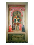 The Trinity, 1427-28 Giclee Print by Tommaso Masaccio