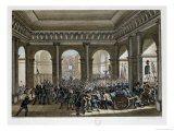 The Parisian People Invading the Tuileries, 1792 Giclee Print by Jean Louis Prieur