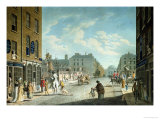 Capel Street with the Royal Exchange, Dublin, 1800 Giclee Print by James Malton