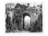 "Ruins in the Middle of Kew Gardens, from ""The Garden and Buildings at Kew in Surry"" Giclee Print by Sir William Chambers"