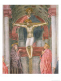 The Trinity, 1427-28 (Detail) Giclee Print by Tommaso Masaccio