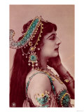 Postcard of Mata Hari Before 1914 Giclee Print
