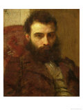 Portrait of a Man Giclee Print by Henri Fantin-Latour