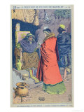 "Witchcraft in the 16th Century, a Witch Selling Some Philtres, from ""Histoire De France"" Giclee Print by Louis Bombled"