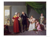 Baron Jean Louis Alibert Performing the Vaccination Against Smallpox Giclee Print by Constant Joseph Desbordes