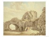 Ruins of Pevensey Castle Giclee Print by Michael Rooker