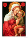 Virgin and Child Giclee Print by Jacopo Bellini