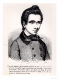 Evariste Galois, 1848 Giclee Print by Alfred Galois
