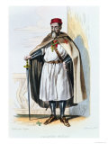 Portrait of Jacques De Molay Master of the Knights Templar Giclee Print by Roguer