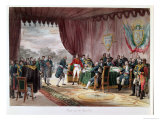 The Signing of the Treaty of Mortefontaine, 30th September 1800 Giclee Print by Victor Jean Adam