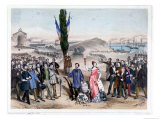 Universal Suffrage, 1850 Giclee Print by Frederic Sorrieu