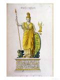 Athena Parthenos, Statue from the Parthenon, Athens Giclee Print