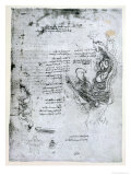 Coition of Hemisected Man and Woman, Facsimile Copy Giclee Print by  Leonardo da Vinci