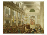 "Synagogue, Dukes Place, Houndsditch, from Ackermann's ""Microcosm of London"" Giclee Print by T. & Pugin Rowlandson"