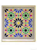 Mosaic Ornament in the South Side of the Court of the Lions, Alhambra Giclee Print by James Cavanagh Murphy