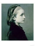 Head of a Girl, 1867 Giclee Print by Celestin Blanc