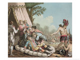 Death of Louis Joseph De Montcalm at the Siege of Quebec Giclee Print by Jacques Francois Joseph Swebach