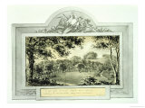 After' View of the Grounds, from the Red Book for Antony House, circa 1812 Giclee Print by Humphry Repton