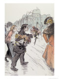 The Down-And-Outs, 1896 Giclee Print by Théophile Alexandre Steinlen