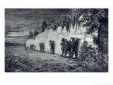 "Werewolves, Illustration for ""Legendes Rustiques"" 1858 Premium Giclee Print by Baron Dudevant Jean Francois Maurice Sand"