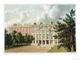 "Hampton Court Palace, from ""The History of the Royal Residences"" Reproduction procédé giclée par William Westall"