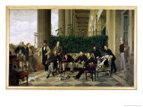 The Circle of the Rue Royale, Paris, 1868 Giclee Print by James Tissot